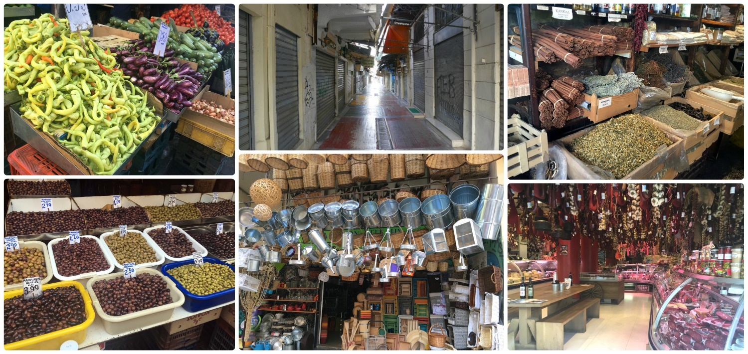 Athen's street markets offer such a large diversity of products!