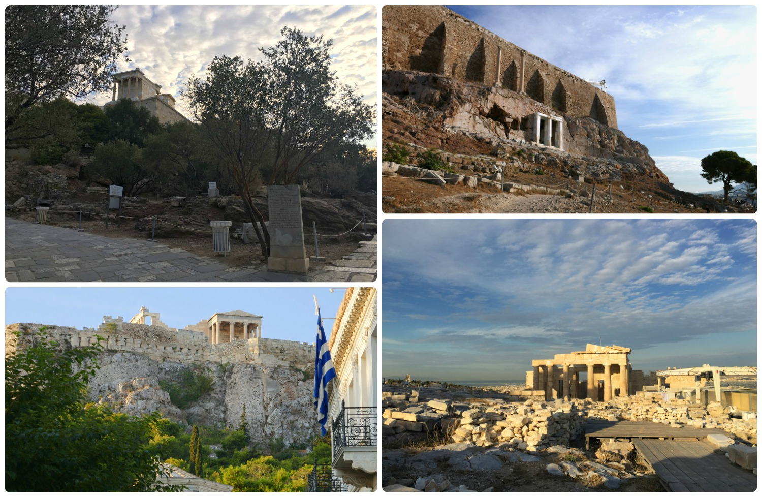 We found ourselves thrilled every time we saw the Athens Acropolis from  somewhere  in the city!