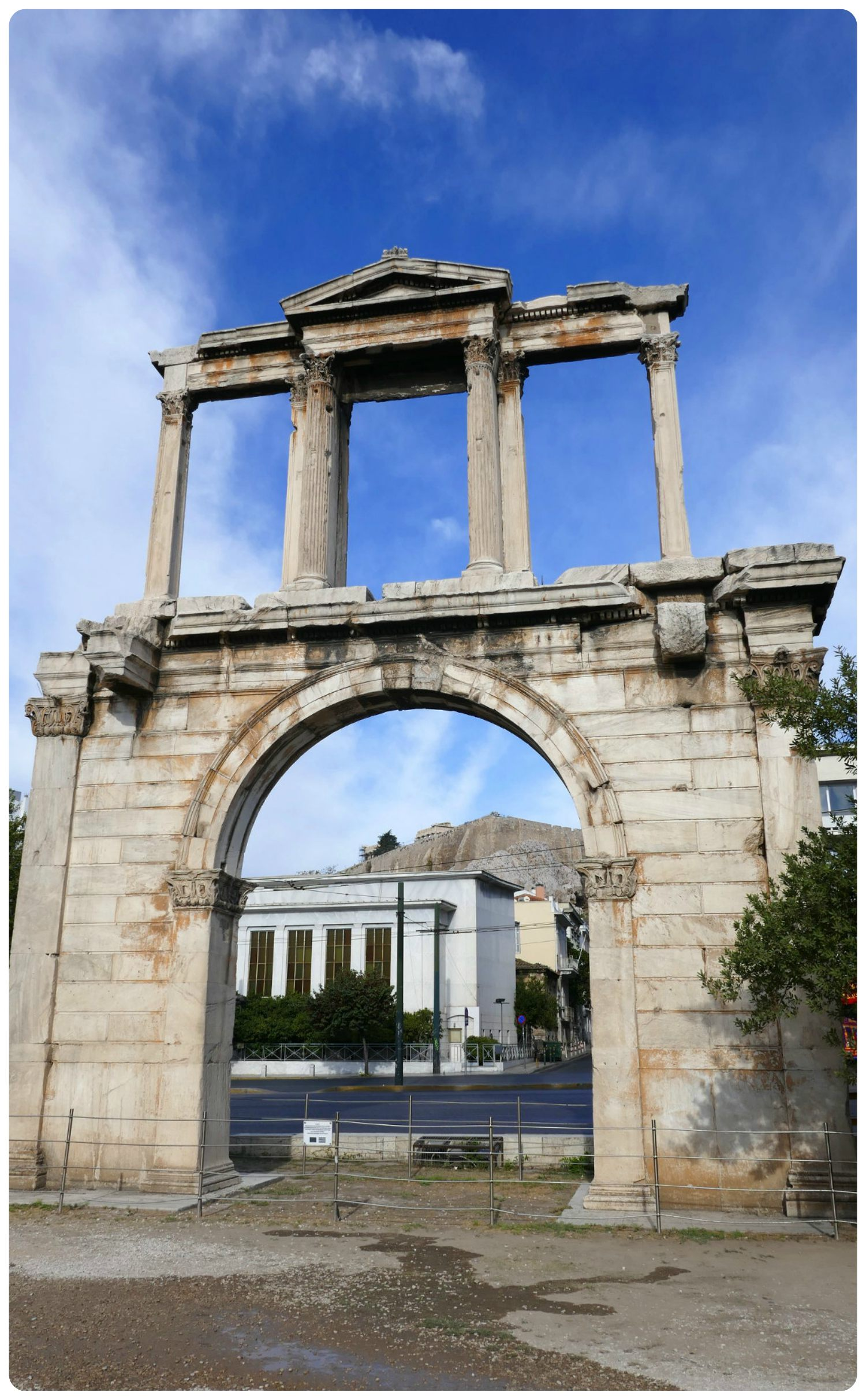 While you can no longer pass beneath the Arch of Hadrian, it's well worth the visit if you're in Athens!