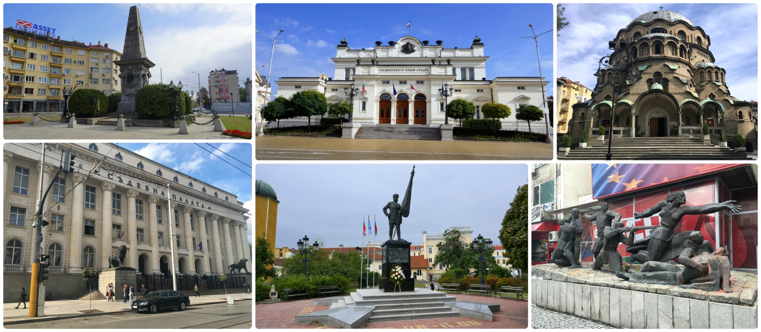 We of course had a sightseeing itinerary planned for Sofia, Bulgaria, but we found so many more great places while exploring the city! Clockwise (from the top left): Vassil Levski Monument, National Assembly of the Republic of Bulgaria, Temple Sveta Paraskeva, Palace of Justice, Shipka Monument, monument on Pozitano (name unknown).