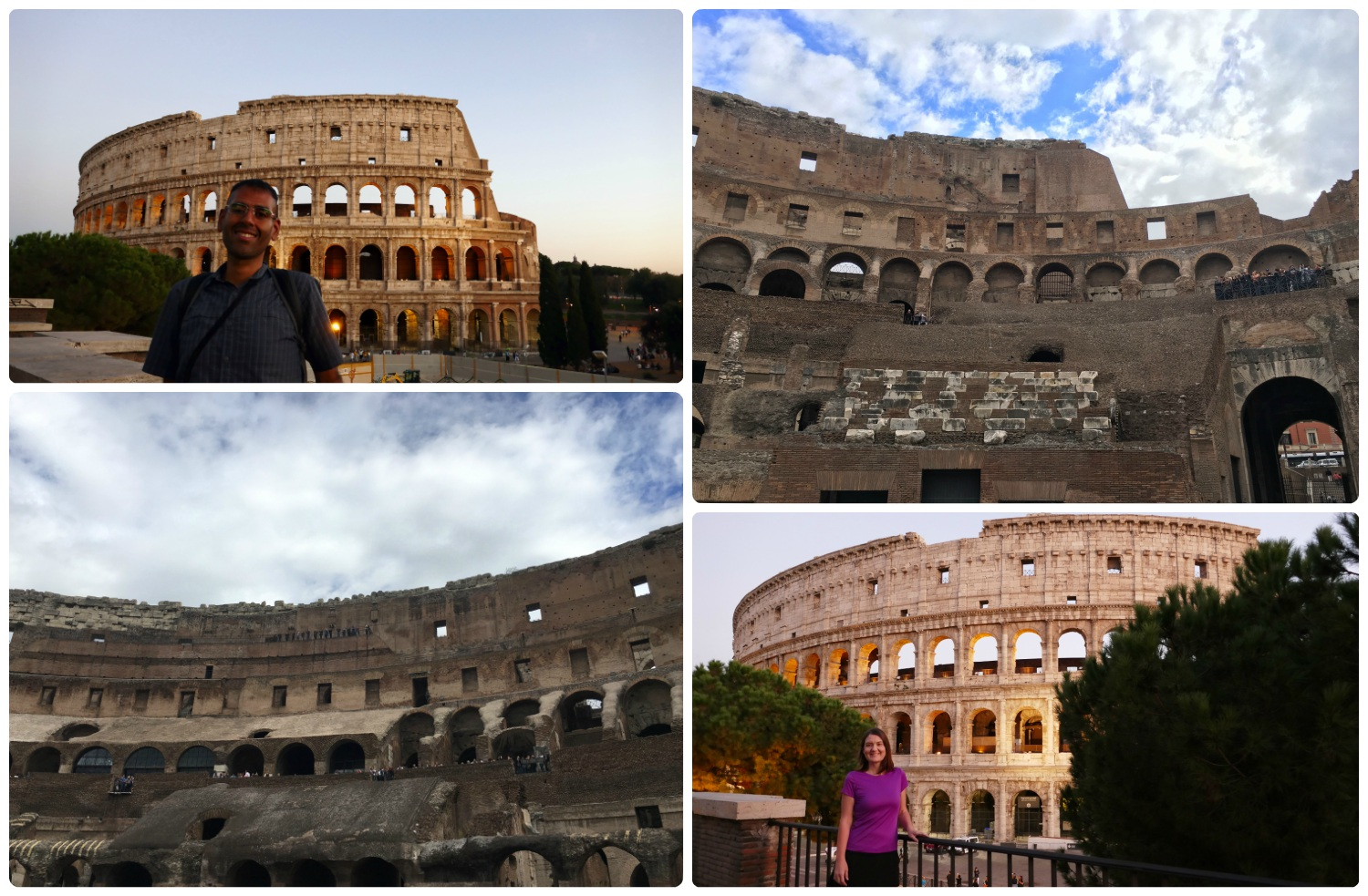 Inside and out, our experience of the Roman Colosseum was breathtaking and something we won't forget anytime soon!