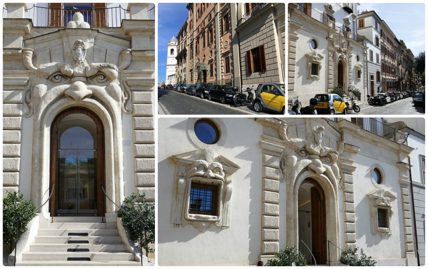 Monster House (Palazzetto Zuccari) in Rome, Italy.