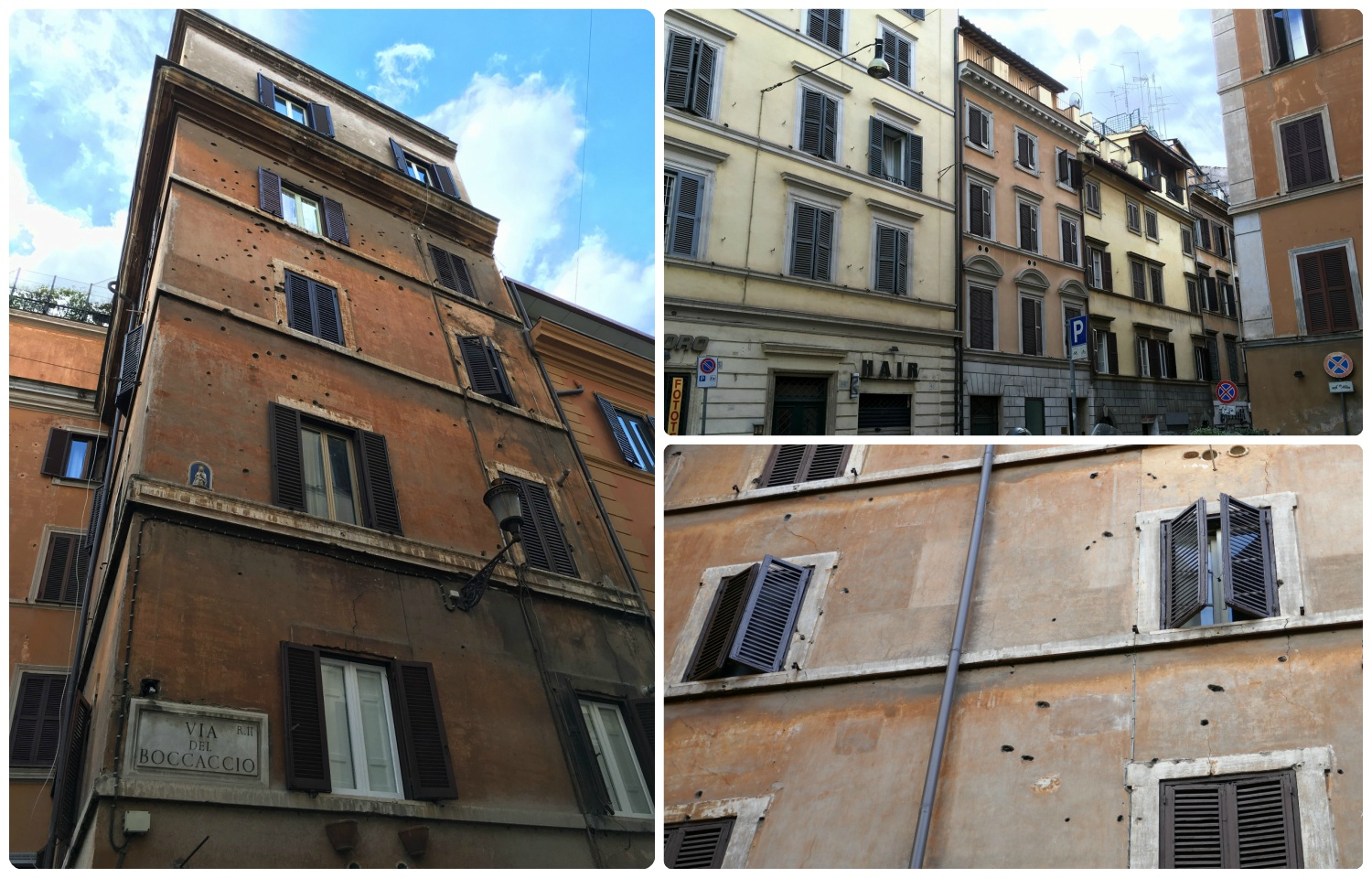 Via Rasella, Rome, Italy – Remembrance of the Massacre of the Fosse Ardeatine.