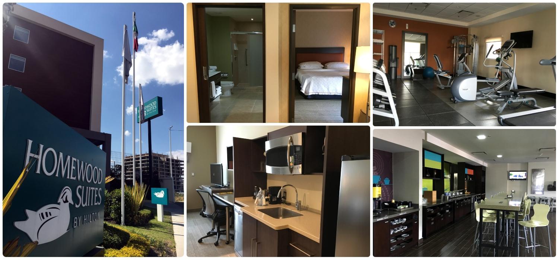 Homewood Suites by Hilton in  Santiago de Queretaro,  Queretaro, Mexico.