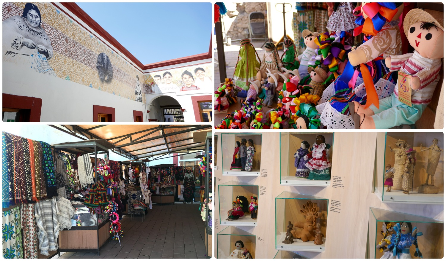 Centro de Desarrollo Artesanal Indigena (Indigenous Artisan Development Center) in Santiago de Queretaro, Mexico. There's a free museum and tons of booths full of handmade wonders to take home.