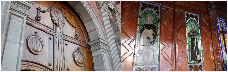 Templo de San Francisco (San Francisco Temple) in Santiago de Queretaro, Mexico.