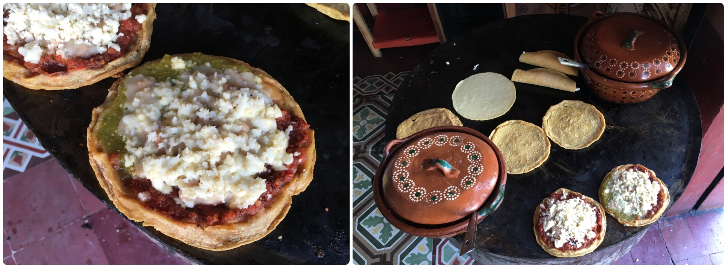 Sopes are a delicious traditional Mexican food.
