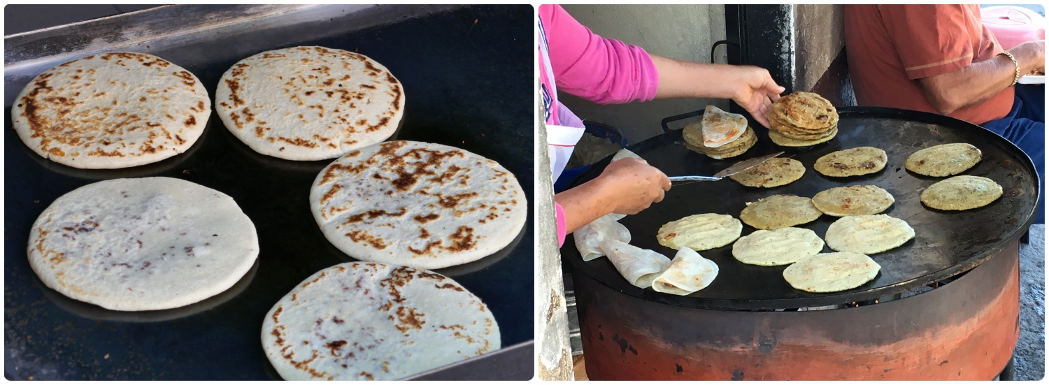Gorditas are a traditional Mexican food, commonly eaten at lunch from a street food vendor.