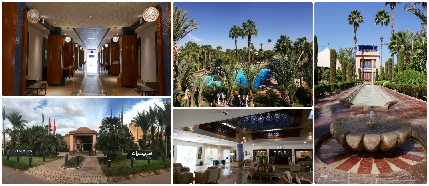 Le Méridien N'Fis is an SPG/Marriott category 1 hotel/resort (as of our visit) located in Marrakech, Morocco. Using points and cash we were able to get a 4 cent valuation on our points and get a great deal on our hotel!