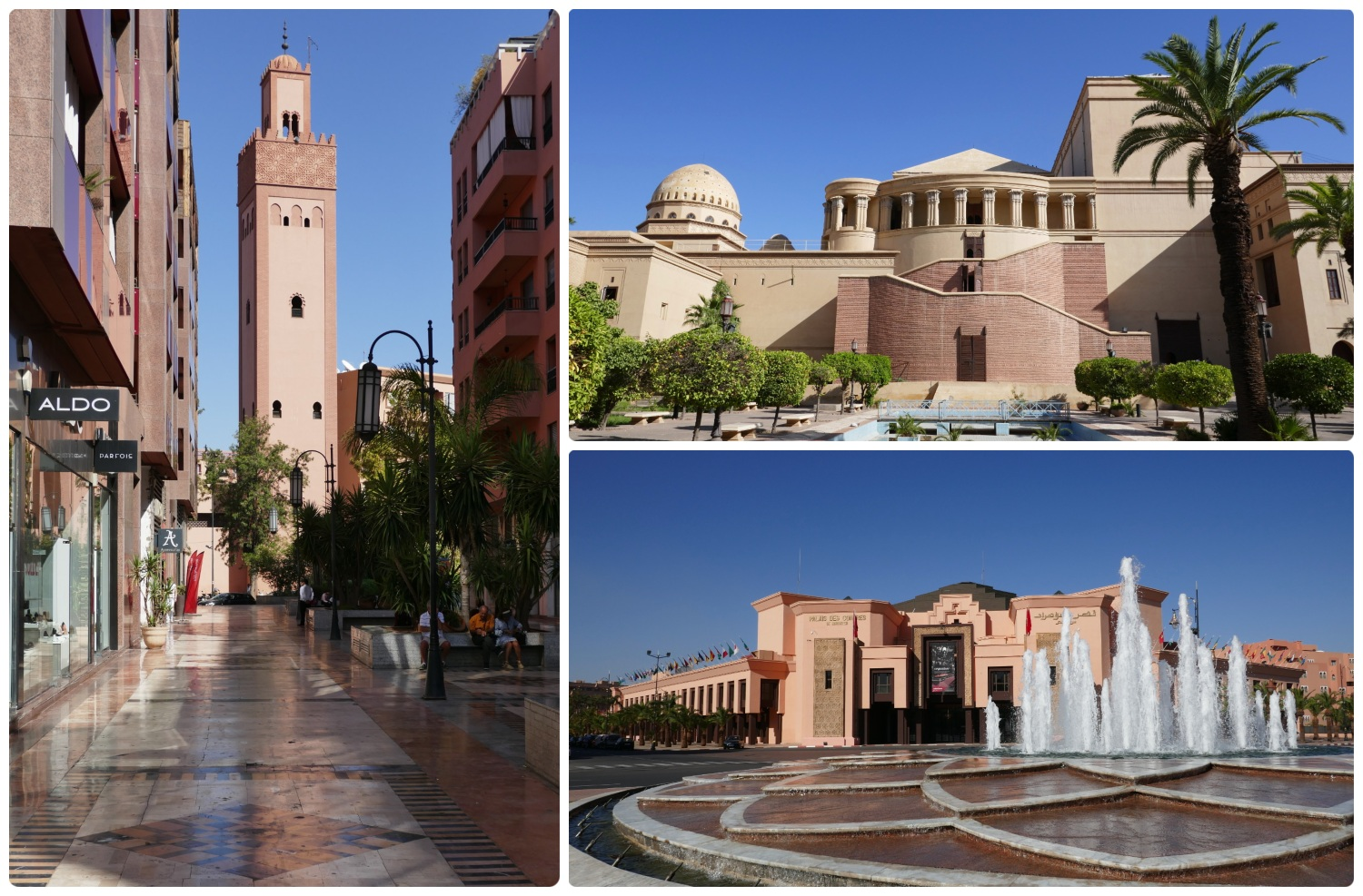 Marrakech Marrakesh Morocco Tourist Tips and travel information city guide how to what to know before you visit where to stay hotels riads new town modern french influence malls bars restaurants clubs