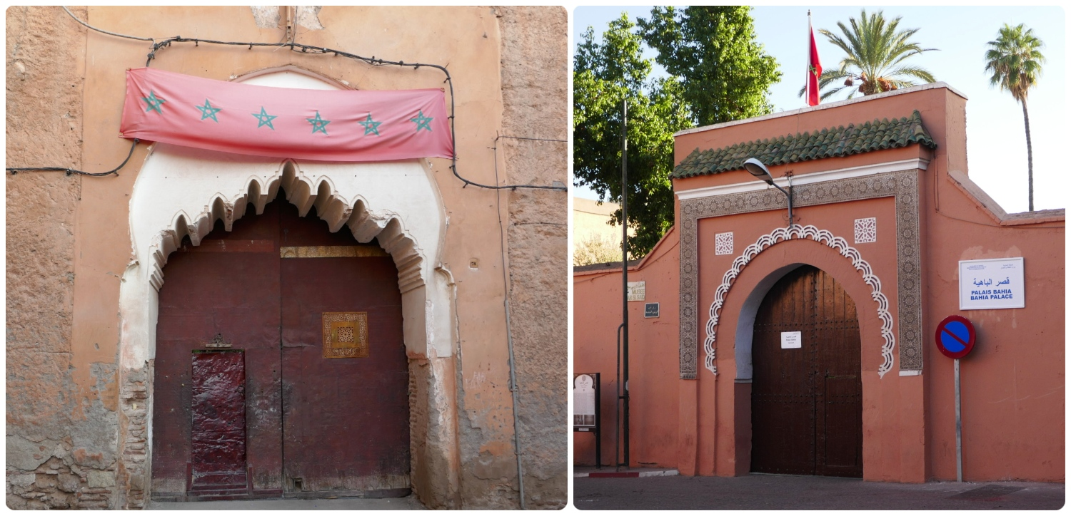 Google Maps walking directions to Bahia Palace (Palais de la Bahiaa) in Marrakech, Morocco will navigate you to a private/back entrance (shown on the left). Use our  sightseeing map  to find the correct/main entrance.