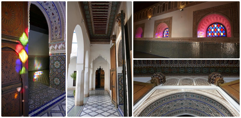 Bahia Palace (Palais de la Bahiaa) in the Medina (Old Town), Marrakech, Morocco.