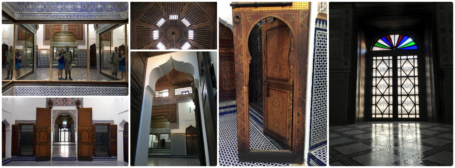 Dar Si Said Museum in the Medina (Old Town), Marrakech, Morocco.