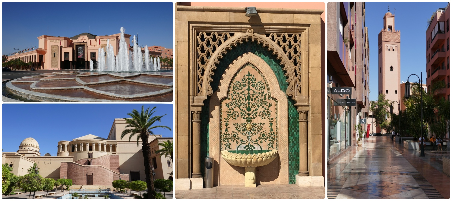 New Town in Marrakech, Morocco is the place to go for drinks, restaurants, and more! It's worth exploring the part of Marrakech that is largely influenced by the French.