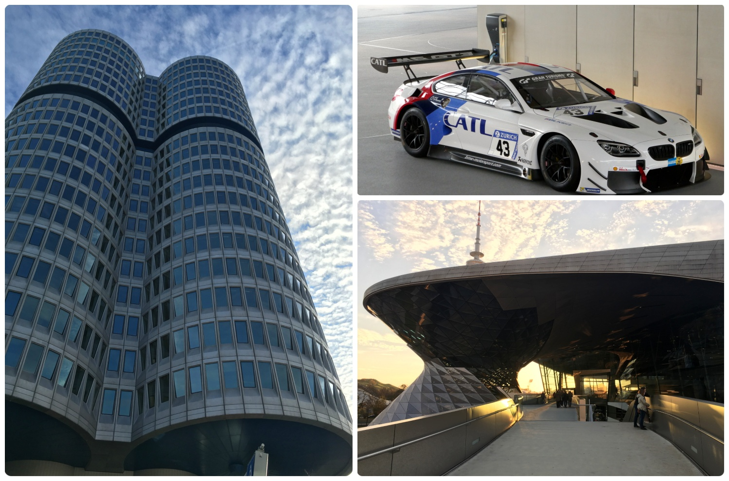 BMW Museum and BMW Welt are in Munich, Germany.