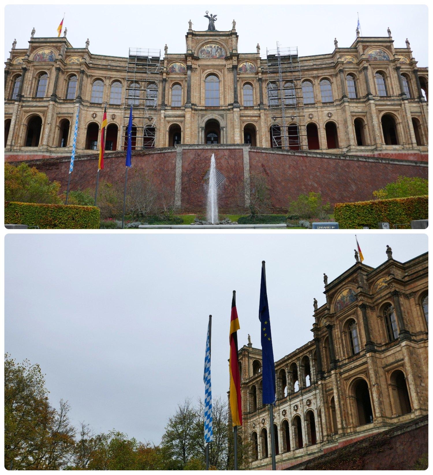 The Maximilianeum, Munich, Germany.