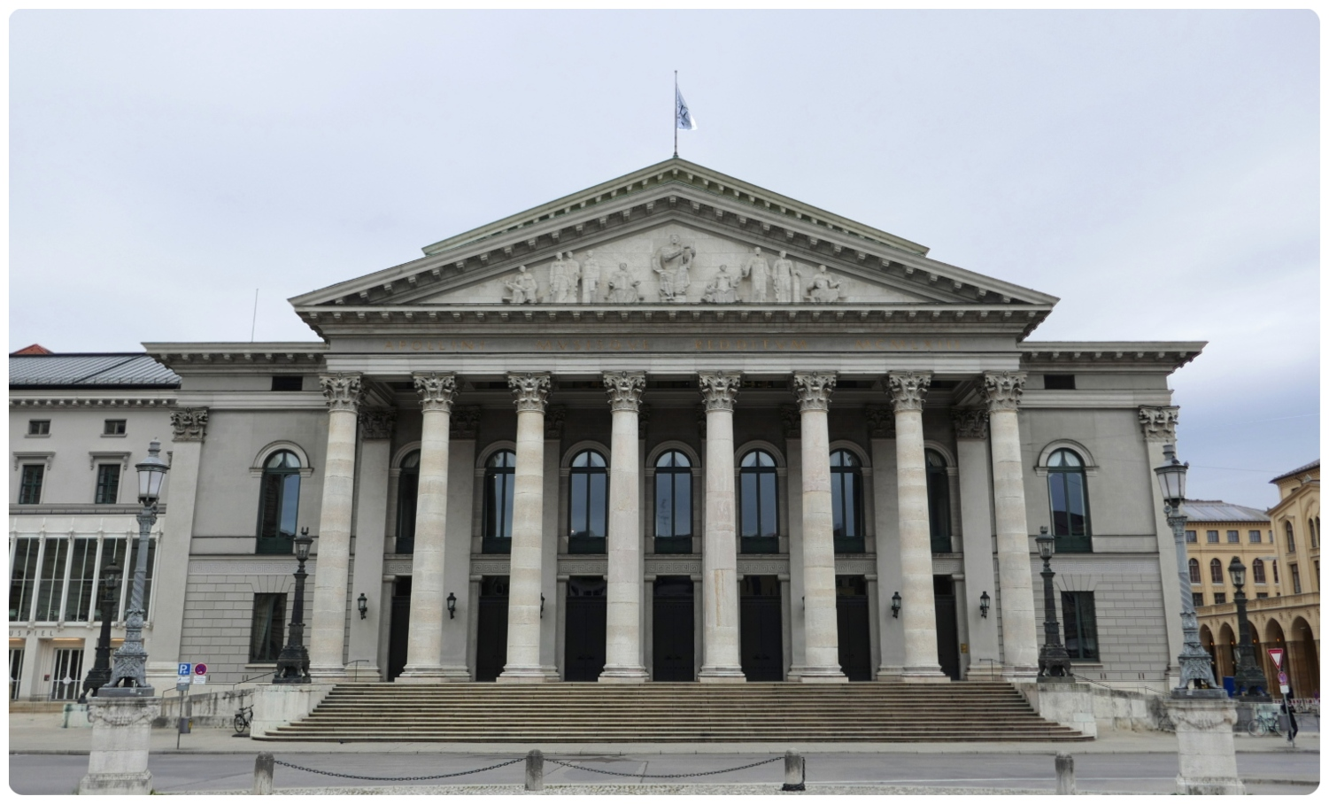 Opera House National Theater (Bayerisches Nationaltheater) in Munich, Germany.