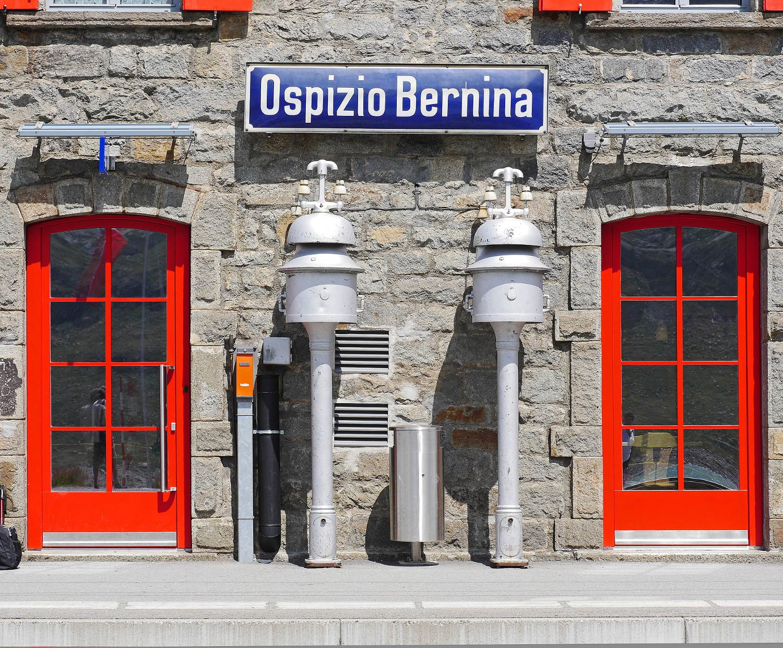 Lakes, Alps, and Glaciers on the Bernina Express Train -