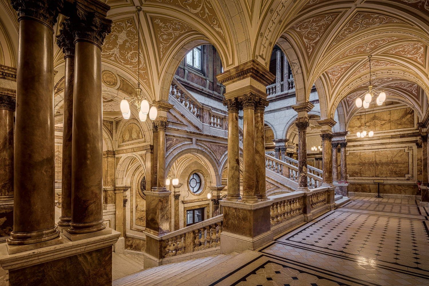 Glasgow City Chambers, Scotland, United Kingdom.