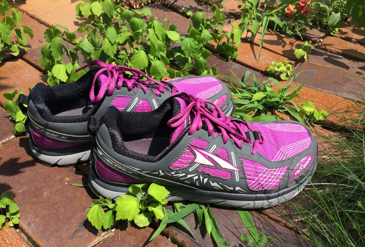 It's hard to find a comfortable, well fitting pair of shoes for Shannon. So far though, she's loving her Altra Lone Peaks!