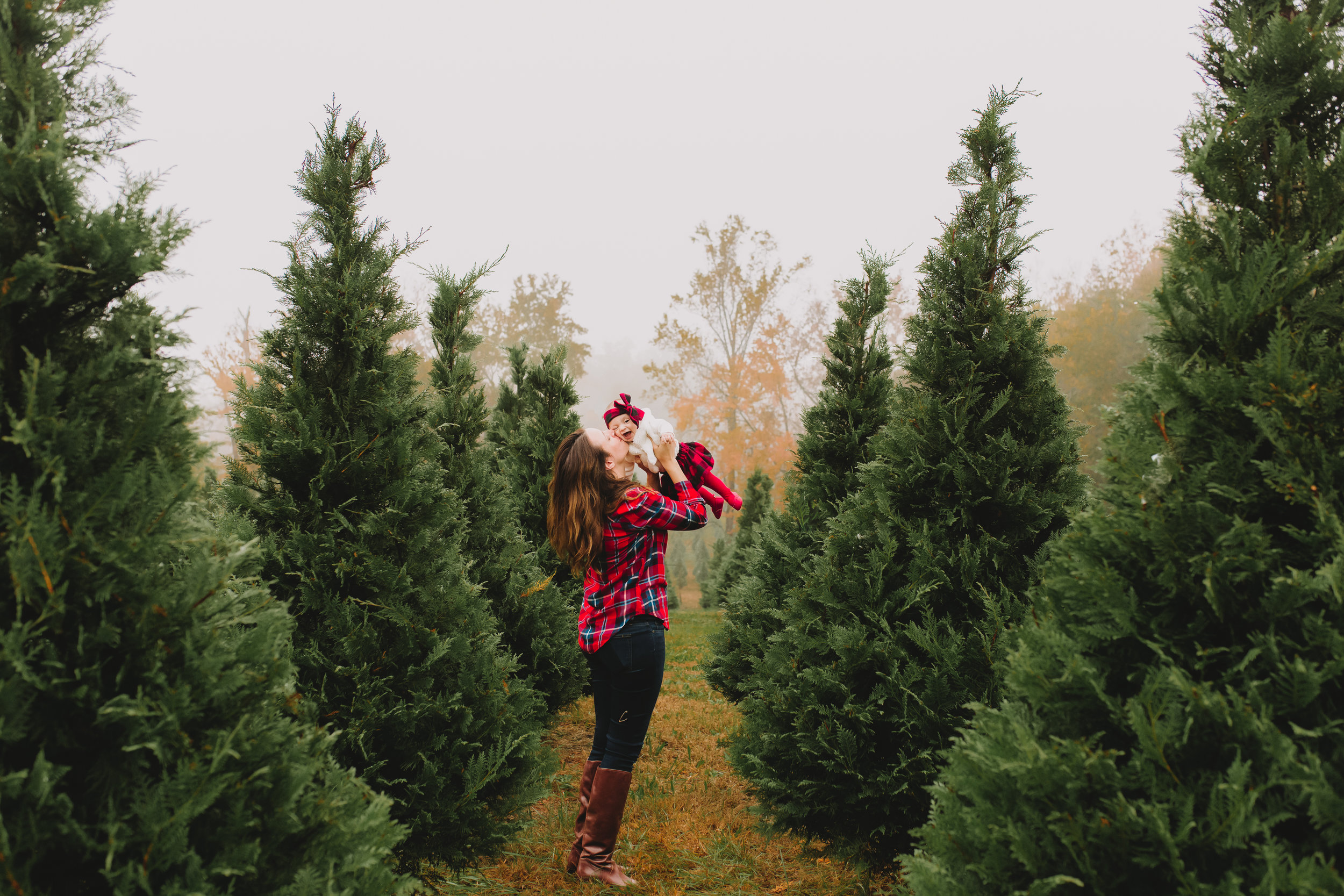 Lawrenceville Tree Farm Session