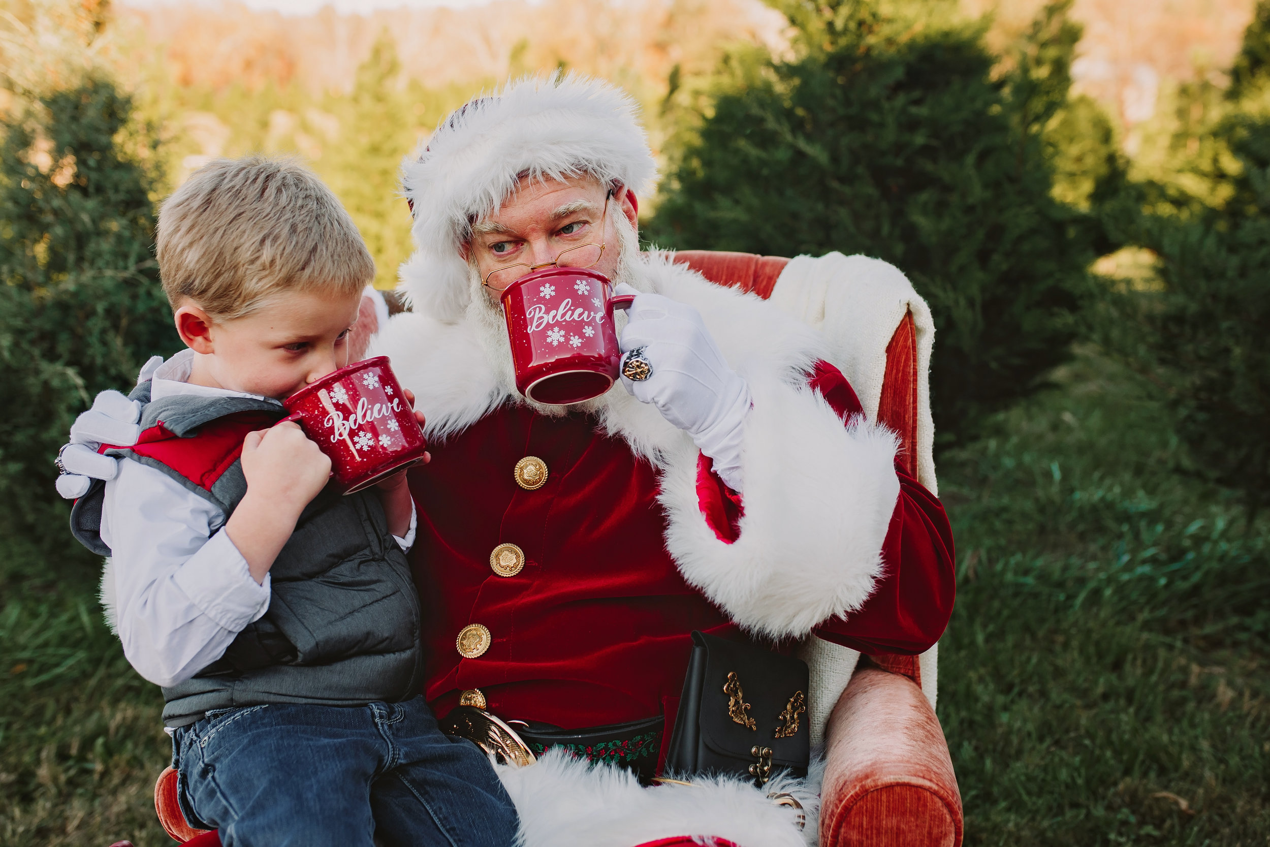 Atlanta Lawrenceville Santa Session