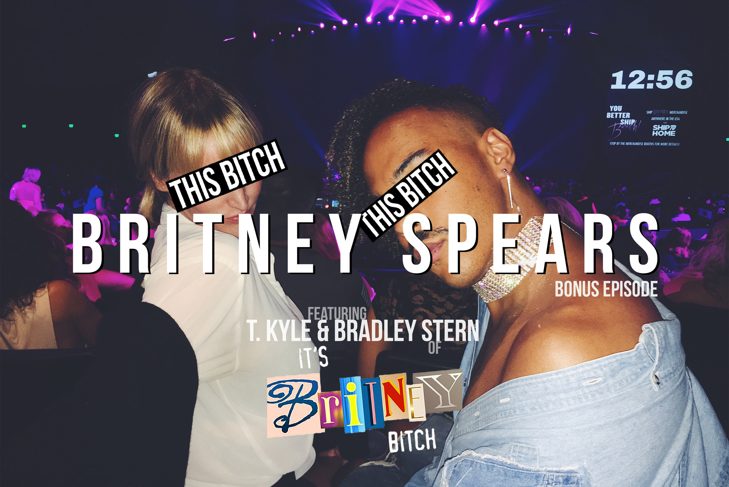 IT'S THIS BITCH BRITNEY SPEARS