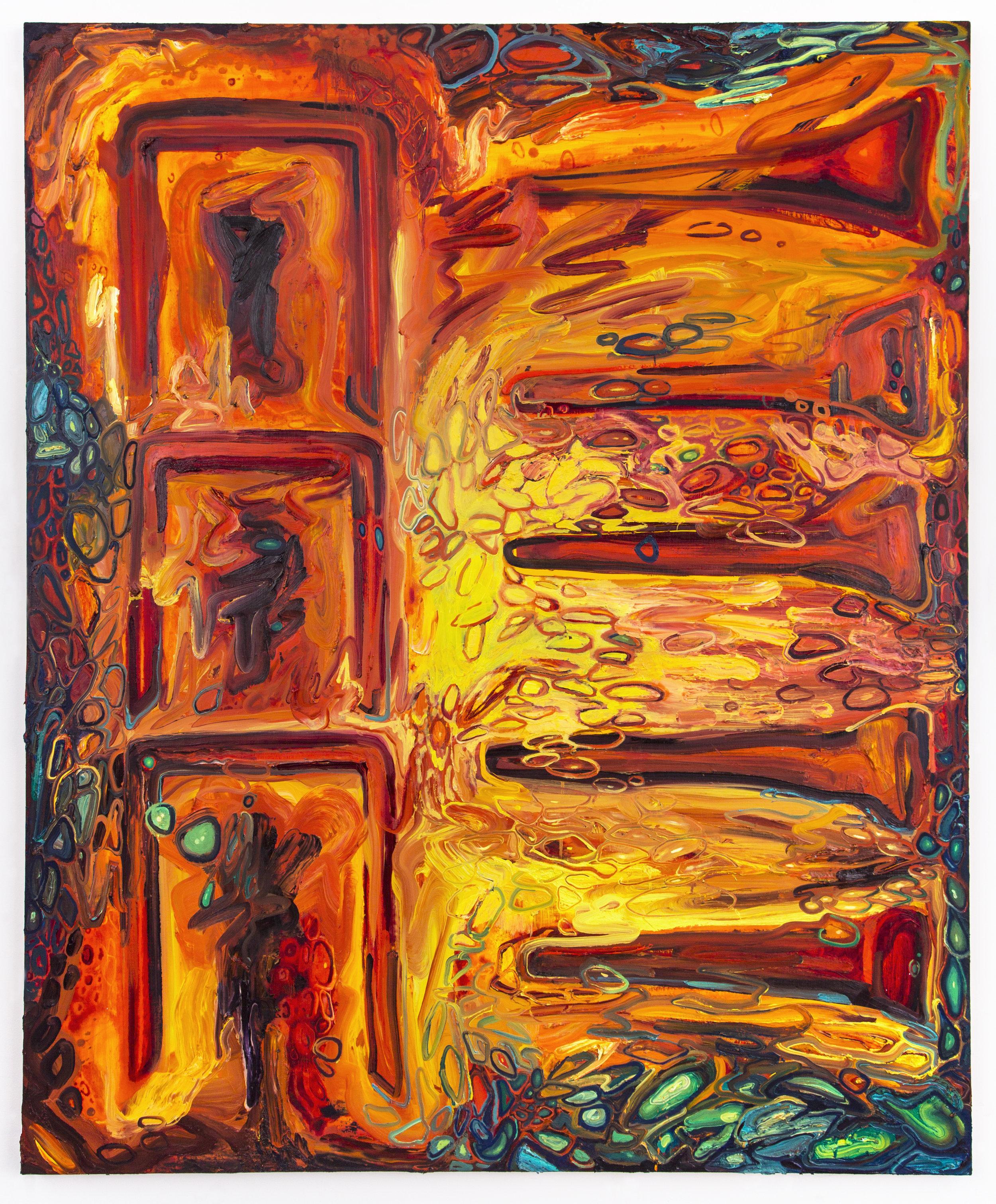 "oil on canvas, 72""x56"", 2017"