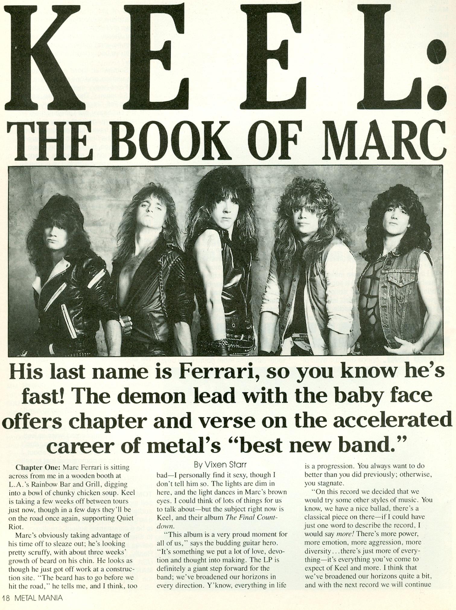 1987 Metal Mania