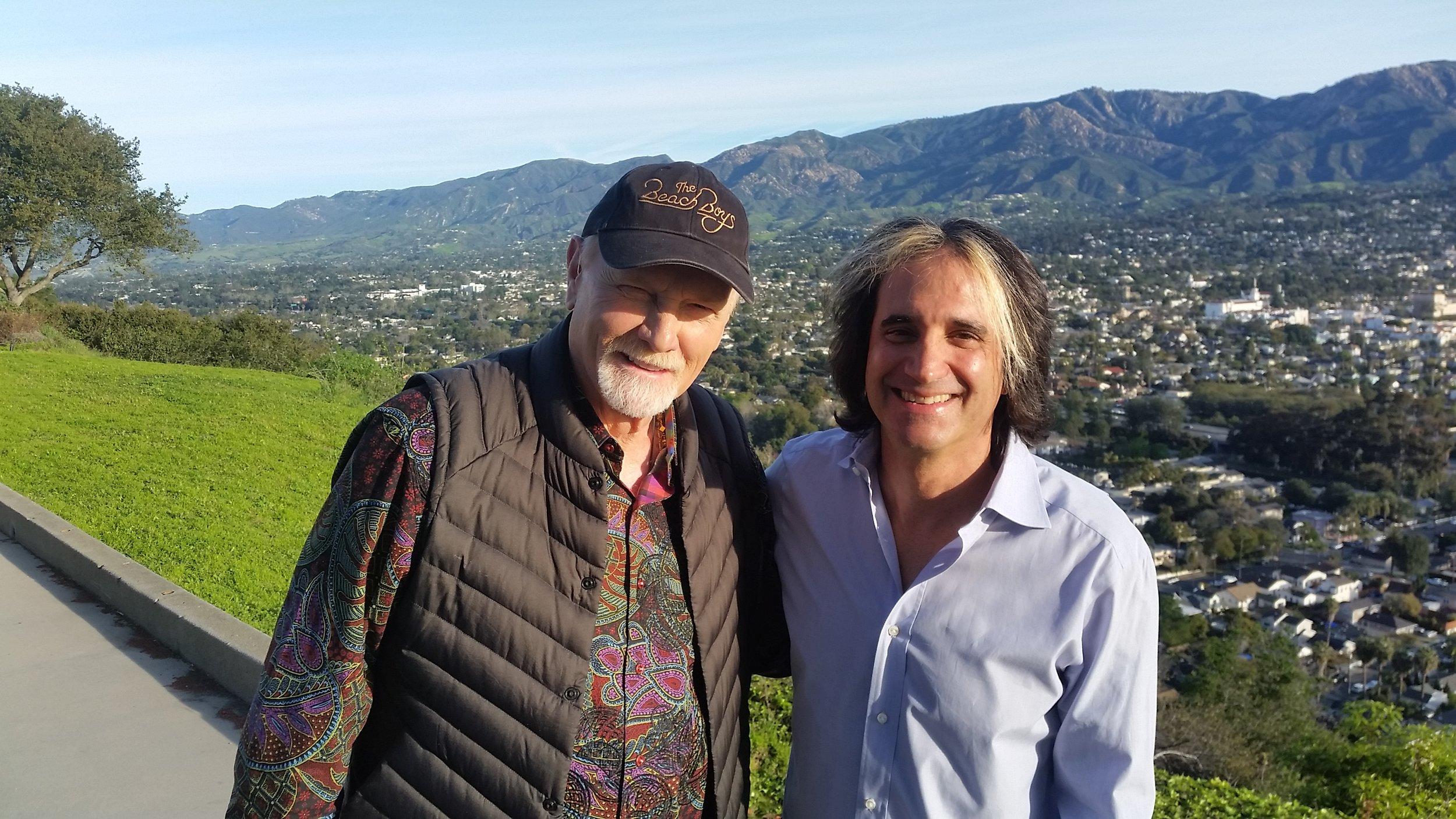 Mike Love of the Beach Boys at KEYT Santa Barbara