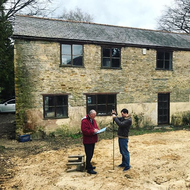 Stripping out and soil testing with the engineer on an exciting new project in Rutland. Watch this space for progress!  #rutland #architecture #construction #newproject #onsite #design #selfbuild #granddesigns