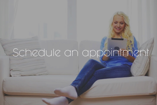 1. Schedule an appointment with one of our representatives or contact us through email for a quote.