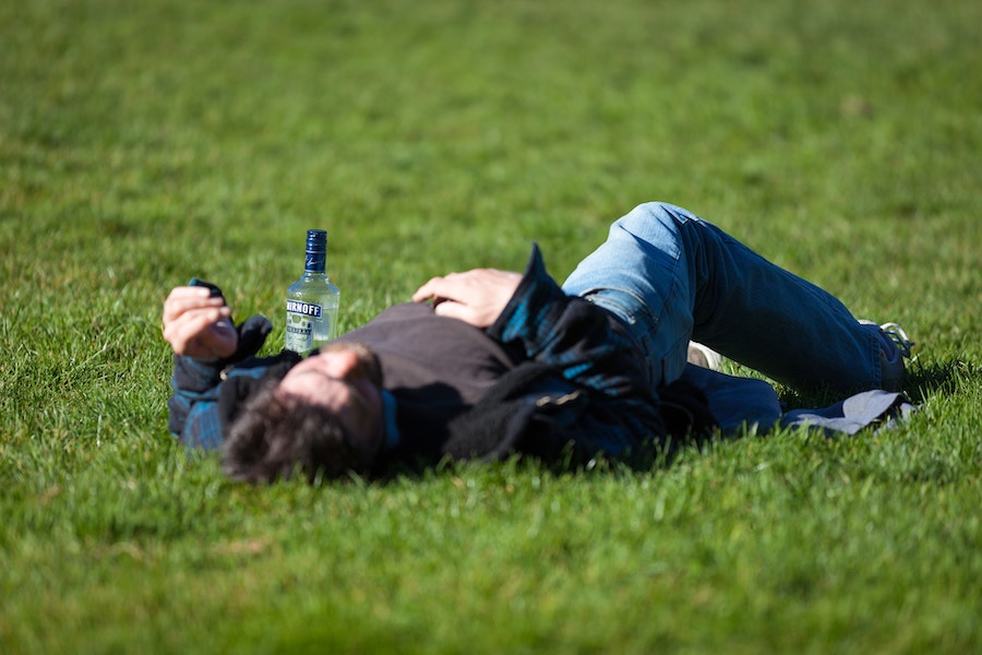 man passed out in the park.jpg