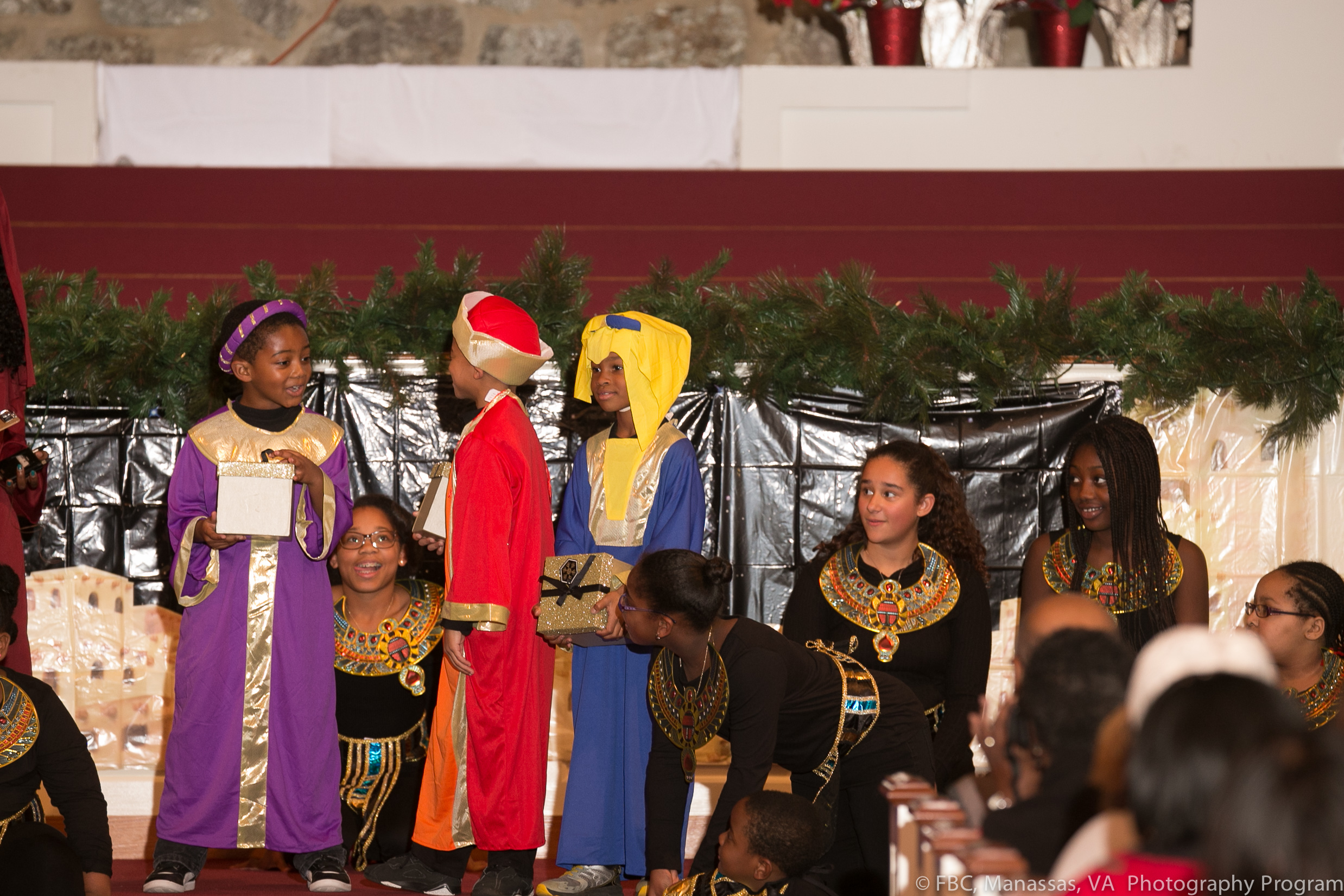 """First Baptist Church YouthChristmas Play 2017Saturday, December 9, 2017""""The King and Me"""" -"""