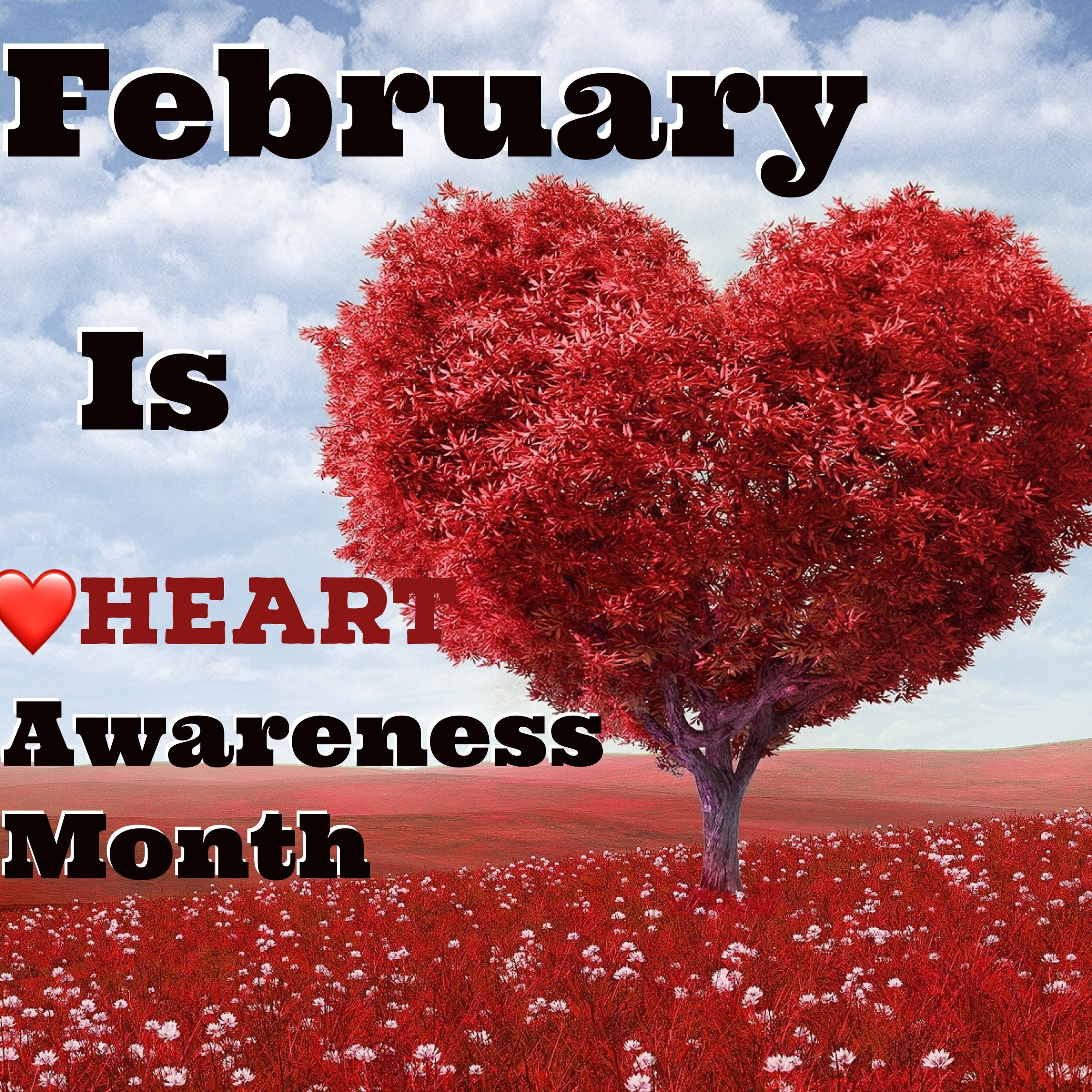 - Wear Red the 2nd Sunday of February (Sun, Feb. 10)