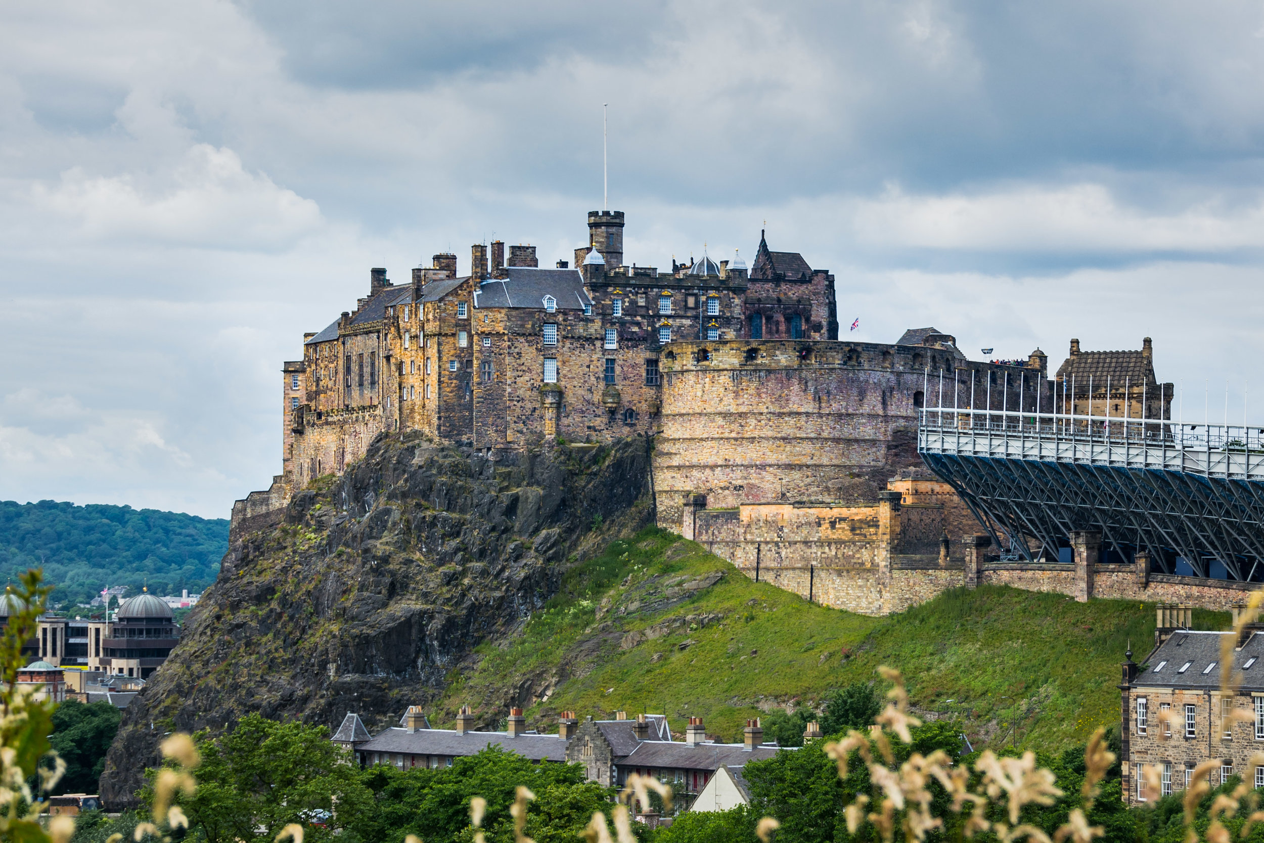 Another shot of Edinburgh Castle