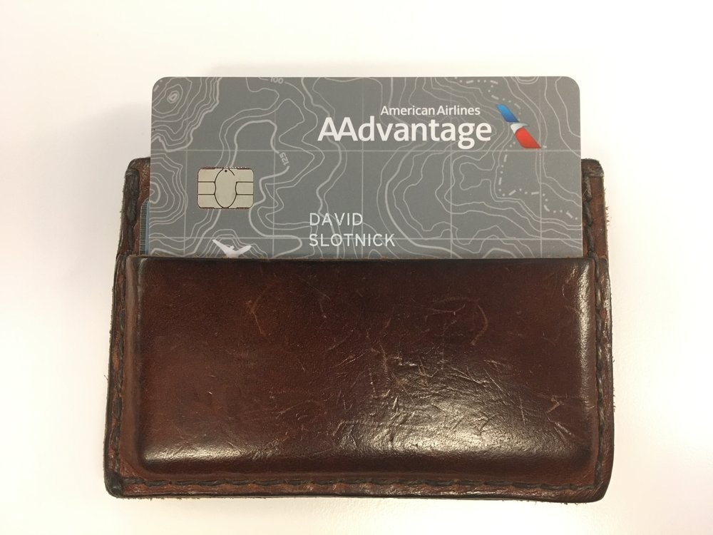 The Citi/AAdvantage Platinum card, which I opened in 2016
