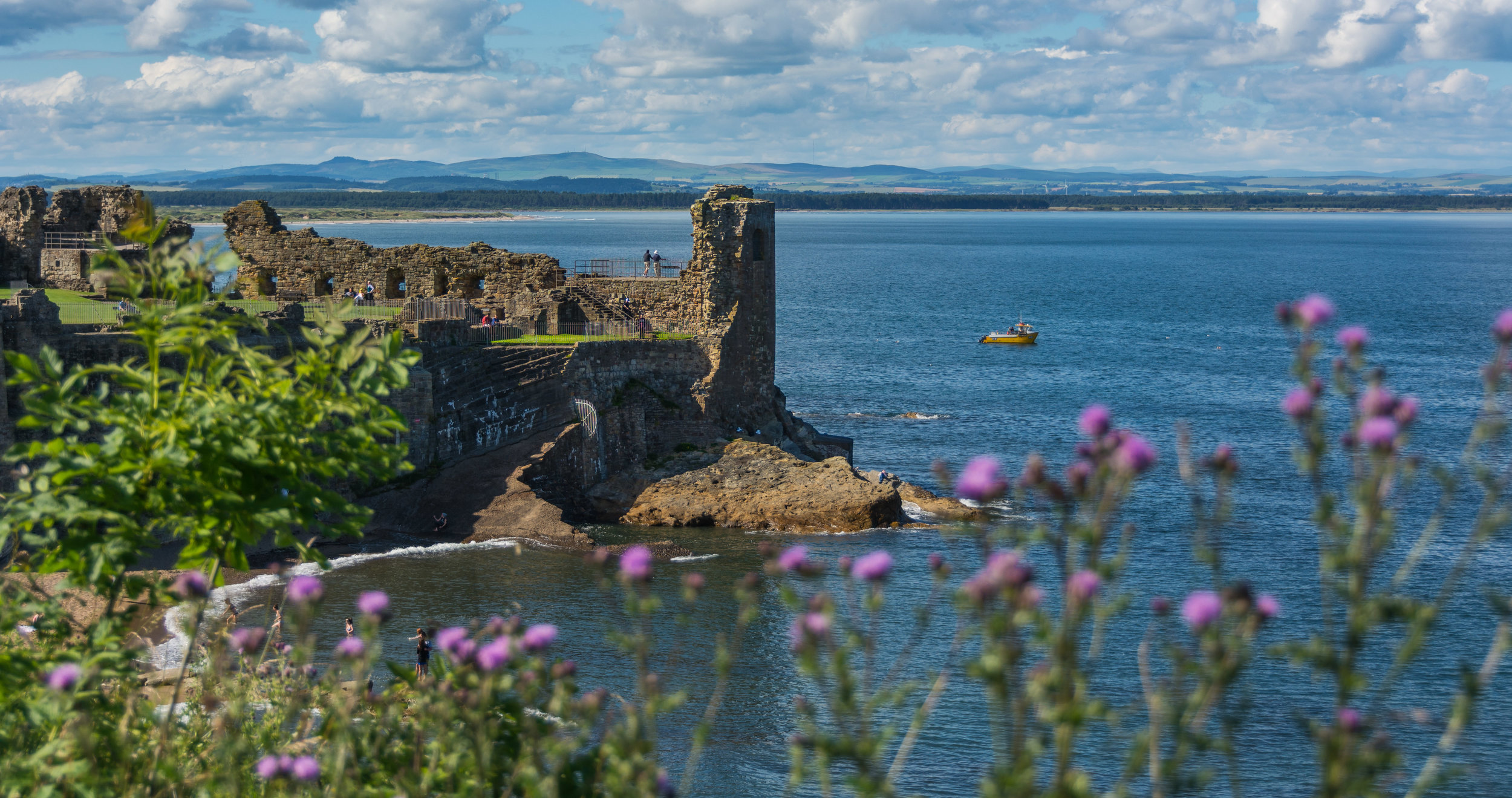 A day trip to Saint Andrews, Scotland, during last summer's redemption.
