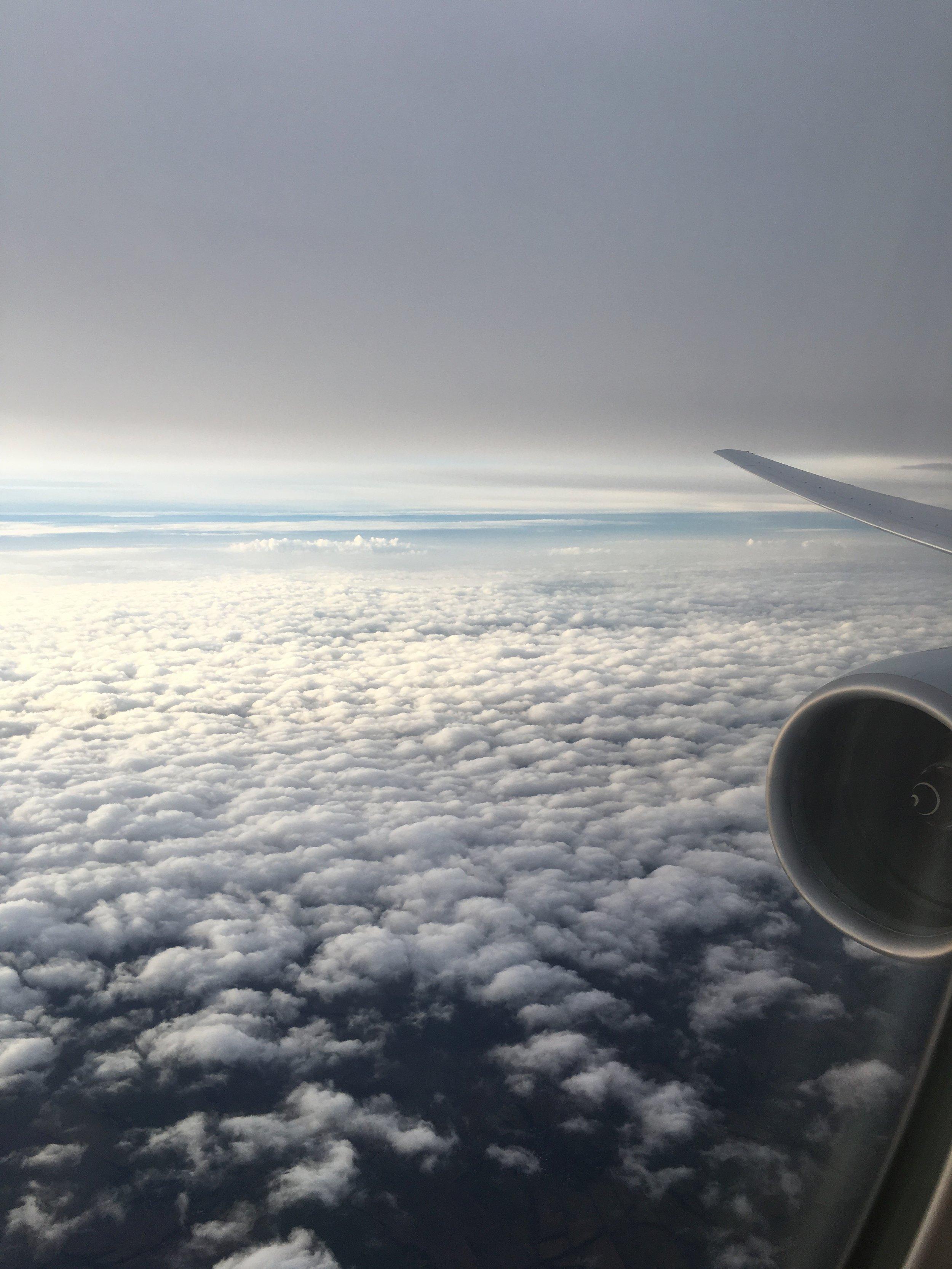 Descending into London