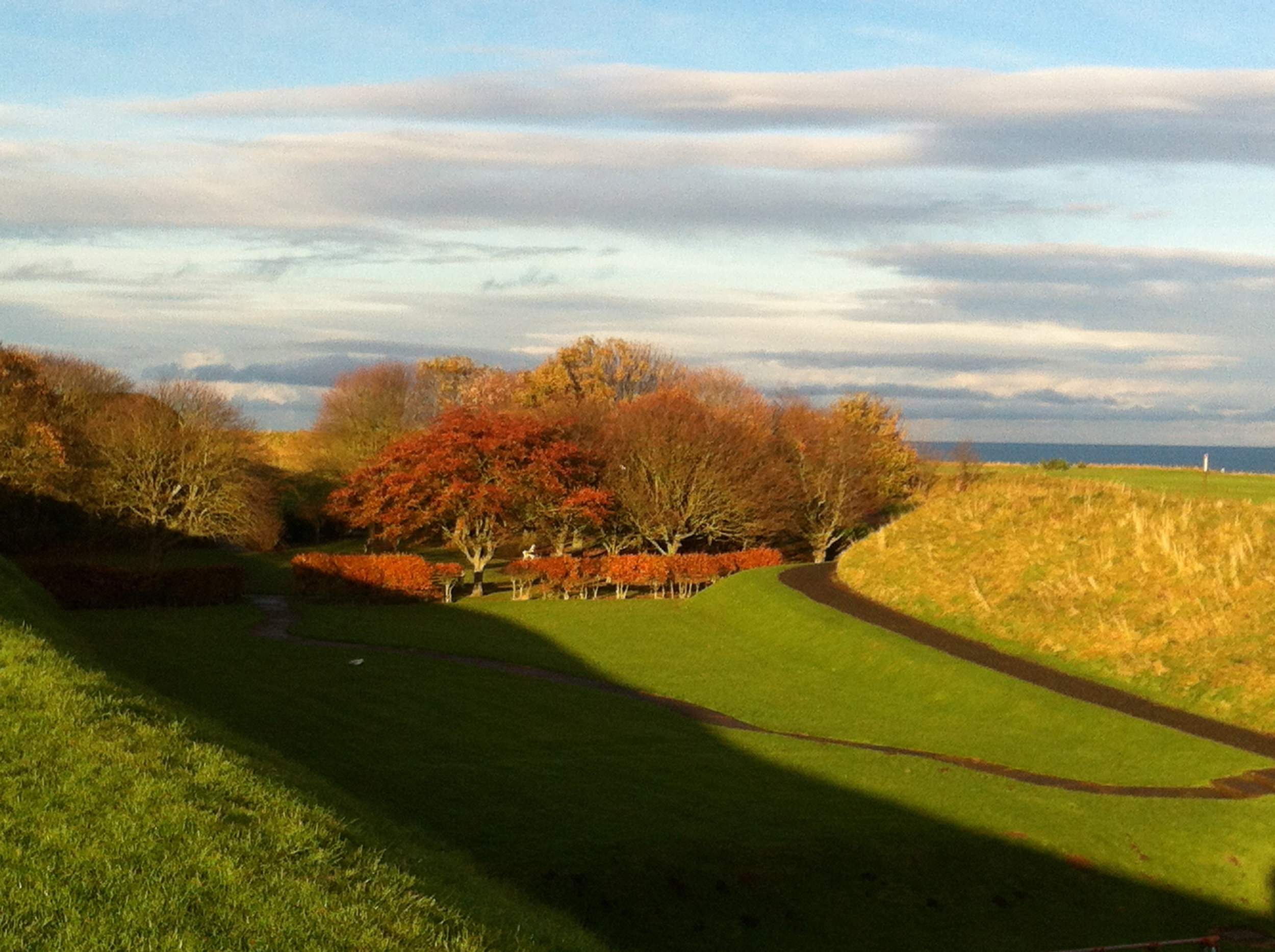 Wandering around Berwick-upon-Tweed in November