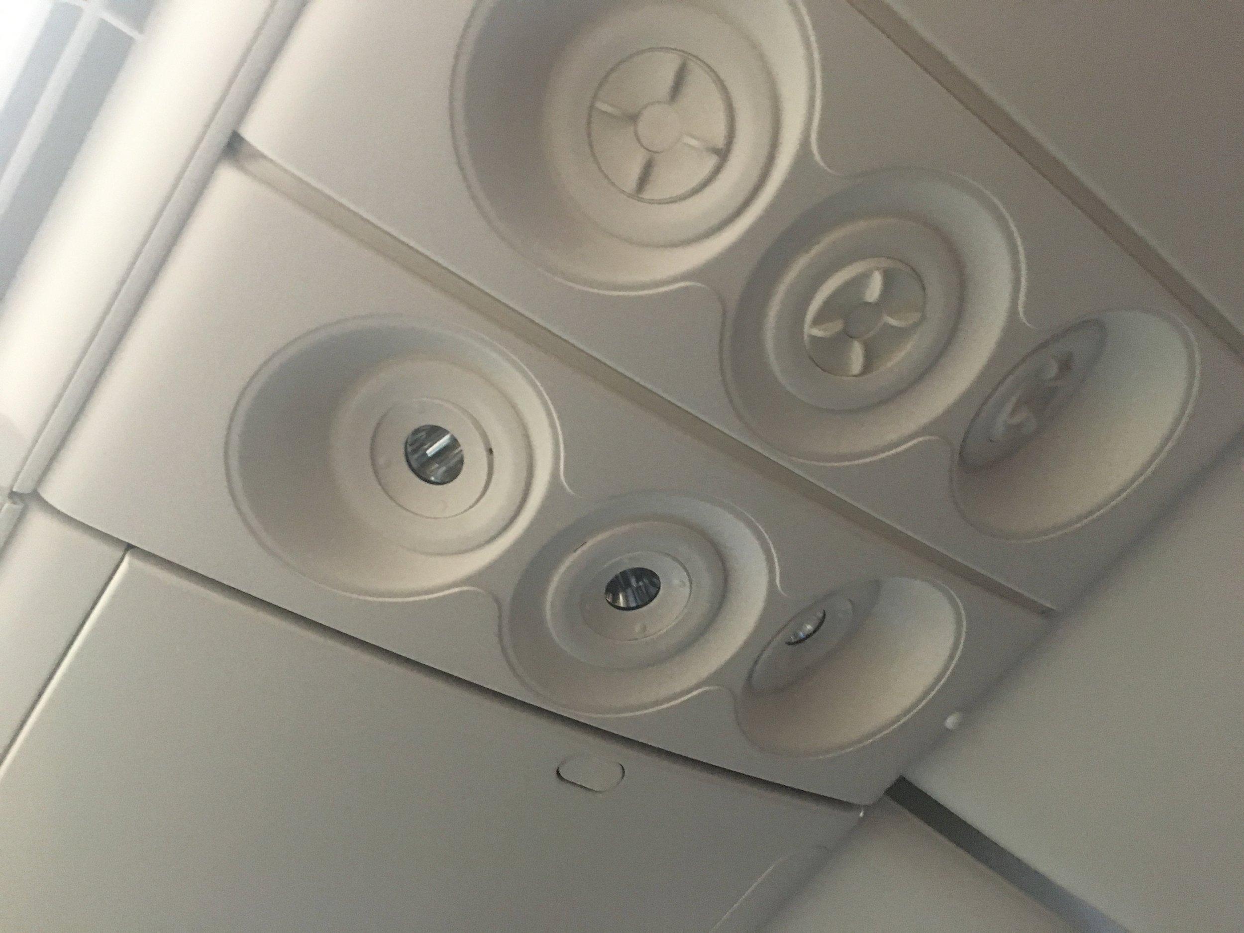 Air vents! Huge luxury.