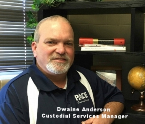 Dwaine Anderson, Custodial Services Manager