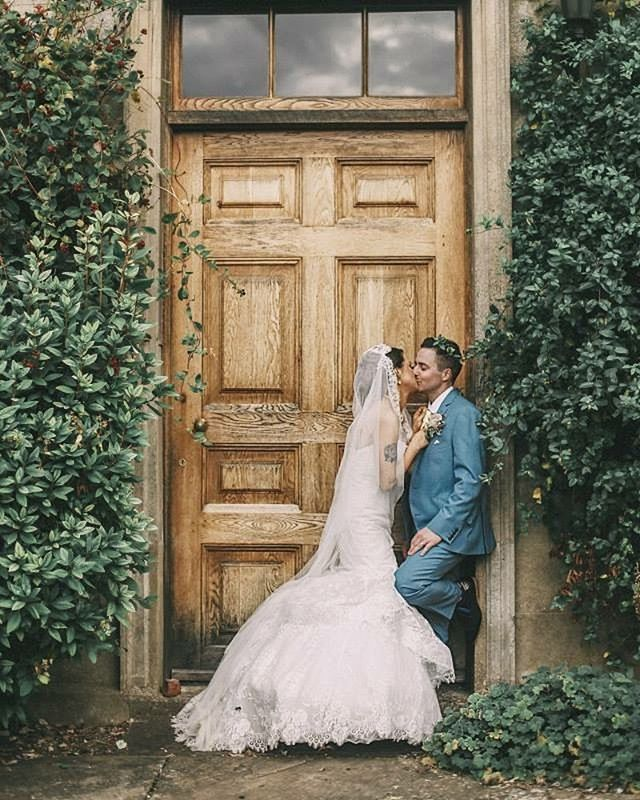 4 years... 💕  photography @georgiarosehardy . . . . . . . #wedding #bride #groom #couple #married #marriage #couplegoals #marriedcouple #justmarried #weddingdress #englishwedding #weddingsuit #anniversary #style #styleblogger #design #designblogger