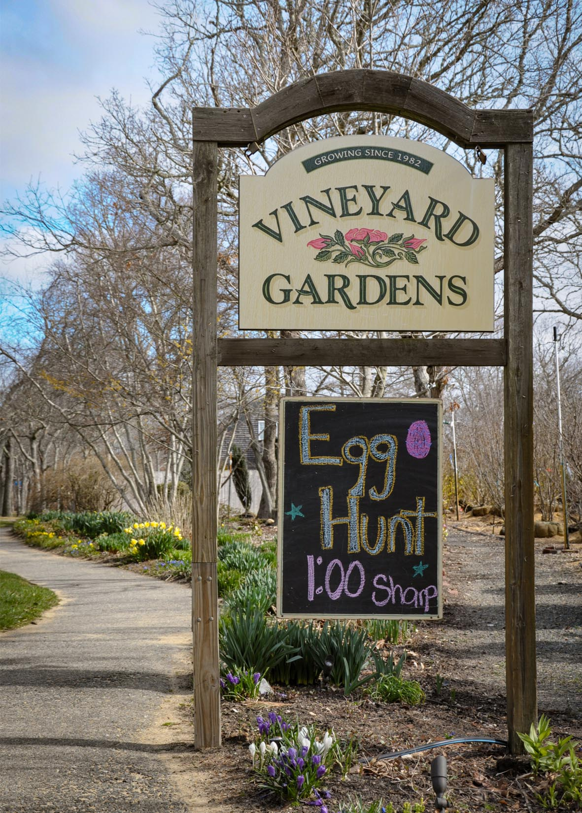 Vineyard Gardens Easter Egg Hunt
