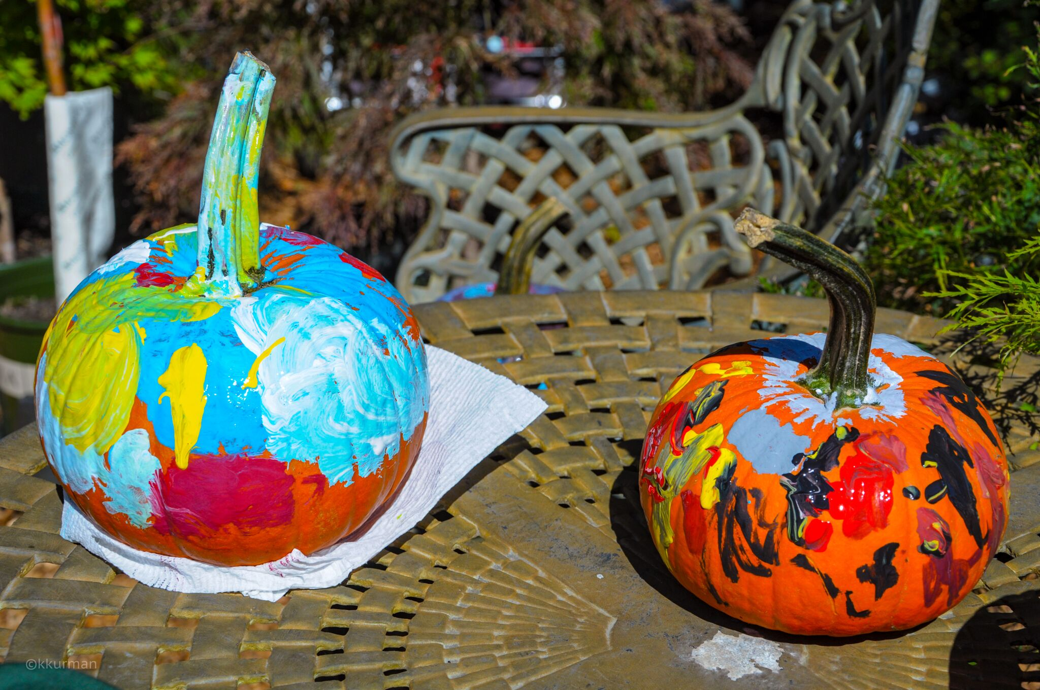Pumpkins worthy of the Modern Art Museum!