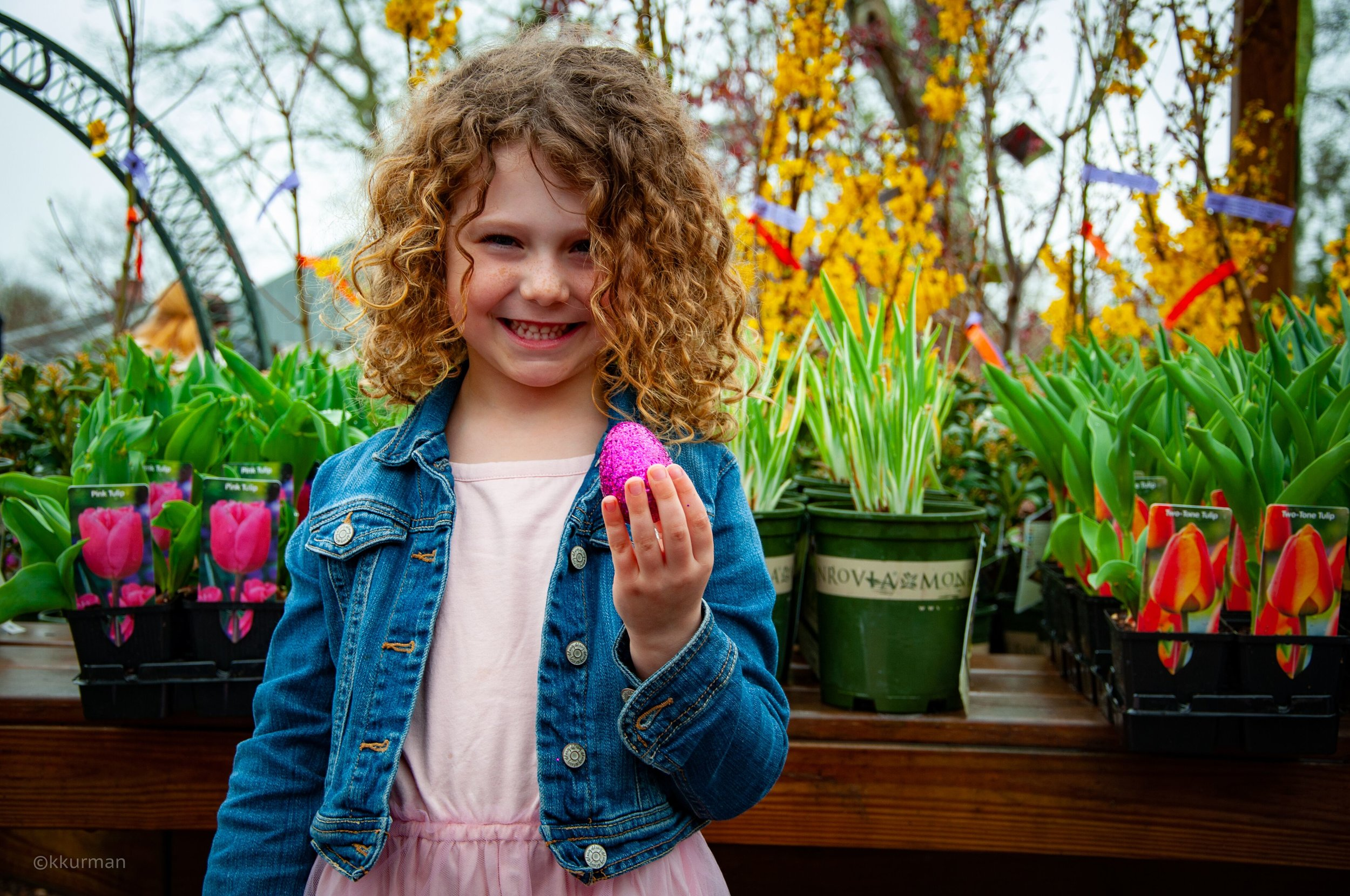 Eloise Estey Moses, age 6 , found the magic egg.