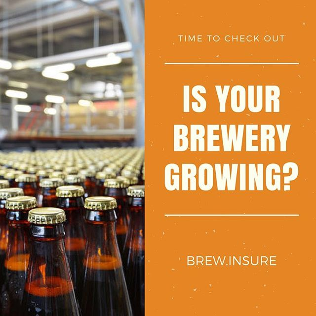 Have you outgrown your current insurance broker? Call us! #breweryinsurance #growingpains