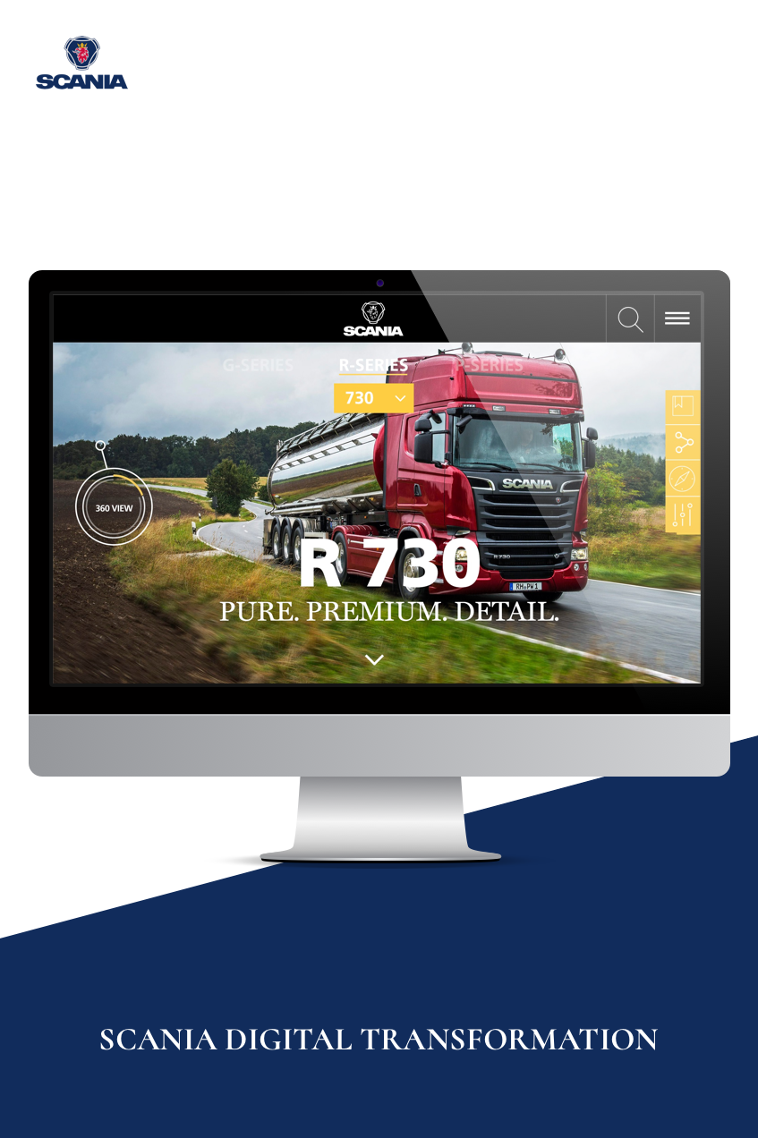 SCANIA DIGITAL TRANSFORMATION