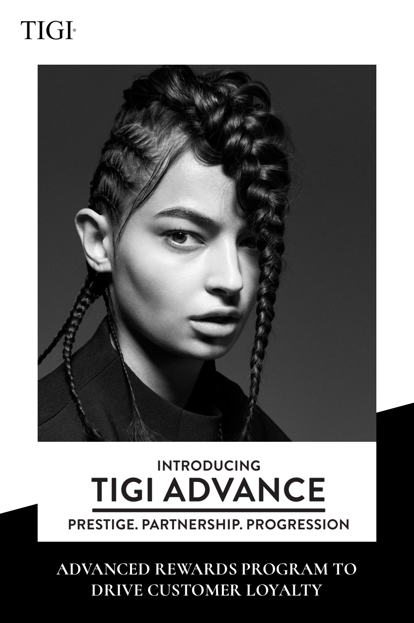 TIGI ADVANCE REWARDS PROGRAM