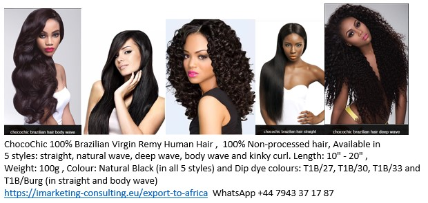 100% Brazilian Hair Extension